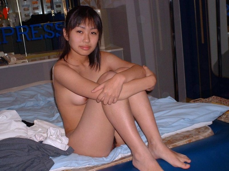 Amateur Asian Hotties Getting Down And Dirty For A Little Poon Tang